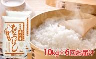北海道赤平産 ななつぼし10kg×6回お届け