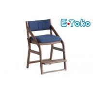 E-Toko 子供チェア(カバー付/ブルー)