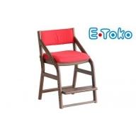 E-Toko 子供チェア(カバー付/レッド)