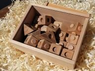 """飛騨の広葉樹で作ったブロック玩具""""ひだキューブ"""" ブロック 玩具 広葉樹 キューブ 室内遊び 幼児 小学生 知育 無垢材 木製玩具 出産祝い 入園祝い 入学祝 [Q003]"""