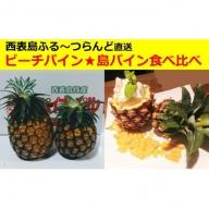 パイナップル食べ比べセット(Sサイズ)☆西表島ふる~つらんど☆