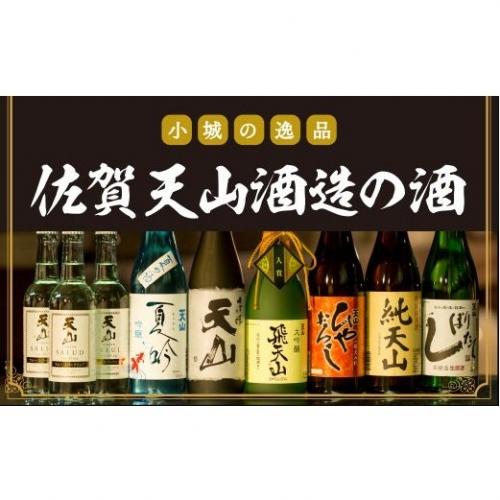 G200-002 【定期便】天山酒造(12ヶ月連続お届け)佐賀 日本酒
