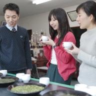 【お茶ツーリズム】お茶の工場見学と、世界に一つだけのオリジナルブレンドのお茶作り体験(2名様分)
