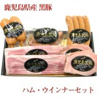 A1-1607/鹿児島県産黒豚ハム・ウインナーセット