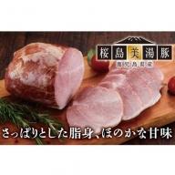 B2-0403/美湯豚モモハム・美湯豚ベーコン