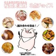 C3-3006/桜島美湯豚3点チョイス