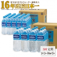 E5-2219/【5回定期】温泉水2L+500mlセット