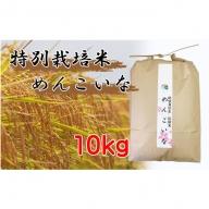 【炭譲米 めんこいな】令和元年産 白米 10kg
