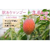 <訳あり>宮崎完熟マンゴー3.6kg以上(9玉入り)【D69】