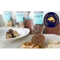 牡蠣のオイル漬け2種と牡蠣のバタースプレッド