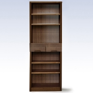 H−050.60書棚BR 無垢材を使用した書棚【諸富家具】