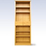 H−051.60書棚NA 無垢材を使用した書棚【諸富家具】