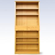 J−039.80書棚NA 無垢材を使用した書棚【諸富家具】