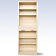 H−052.60書棚WH 無垢材を使用した書棚【諸富家具】