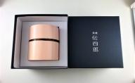 【藤木伝四郎商店】帯筒 茶筒(平)しだれ <伝統工芸品 樺細工>