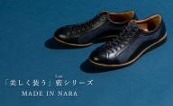 倭イズム 牛革×デニム紳士靴 YA3310 ブラック