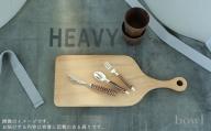 A20-176 豊かな食卓を演出するバターナイフ&フルーツスプーン&ティーフォークセット(ブラウン) 日用品店bowl