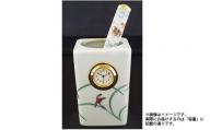 A25-153 香蘭社「リンドフィールド」 ペン立て時計