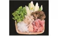白神特選 白神地鶏鍋セット・青い山