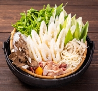 【D17】白神特選 きりたんぽ鍋セット・望郷(ぼうきょう)