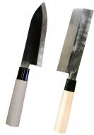 【D42】二代目「義正」の菜切り包丁・出刃包丁のセット