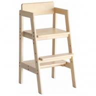 《約1~2ヶ月後発送予定》Kids High Chair -stair- (ナチュラル)