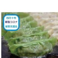 19-014C.【新型コロナ被害支援品】 四万十ひすい餃子・かつお餃子(8ヶ×4パック×2種)