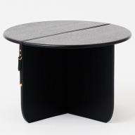 P−035.SUSPENDER S/TABLE M BK【諸富家具】