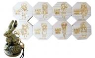 アニメ「けいおん!」コースター8種類とうさかめストラップセット