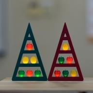 アップルツリー(緑)1個【LEDライト】