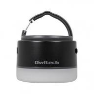 大容量モバイルバッテリー搭載 LEDキャンピングランタン 6700mAh USB Type-A × 1ポート出力 OWL-LPB6701LA-BK