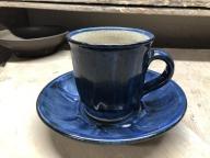 IG-02 「呉須」八面コーヒーカップとソーサー