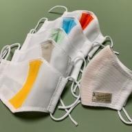 【A-49】【夏用高通気タイプ】洗えるマスク 4枚セット 表裏抗菌布素材 ハンドメイド多度津製