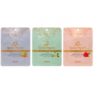 富士山温泉水フェイシャルマスク 3種類詰め合わせ(フランキンセンス/イランイラン/ネロリ/ダマスクローズ)