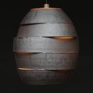 陶器照明 ペンダントランプ 「繭 MAYU」ライティングレール方式