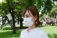 夏用涼感!繊維のプロが作ったひんやりマスク(10枚)【入金から10日以内に発送】_AA-8503