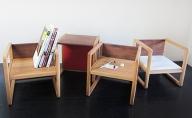 幼児用多用途椅子 コロコロコロ・・・ (赤)