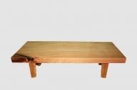【54】座卓(テーブル)バッコヤナギ・一枚天板【厚さ約6.5cm】