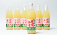 ひろふね林檎果汁100%(ブレンド1L×6本入り)