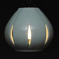 陶器照明 ペンダントランプ 「蕾 TSUBOMI」ライティングレール方式