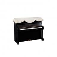 ピアノベールオリジナル・ピアノトップカバー P-01(音符・花柄)
