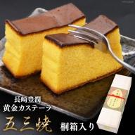 AC013五三焼 長崎豊潤黄金カステーラ