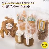 AA016美味しく食べて、体ぽかぽか温まる 生姜スイーツセット