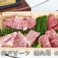 BG23◇神戸ビーフ 焼肉4種盛り500g