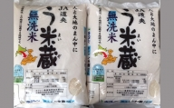 【令和2年度産】う米蔵無洗米5kg×2【29002】