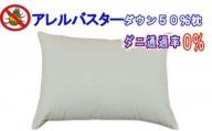 ダウンピロー50×70cm アレルバスター 防ダニ枕