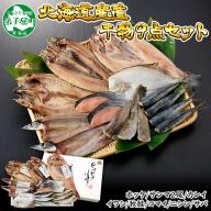 343. ふっくらやわらか 干物 9点セット 北海道 魚介 海鮮
