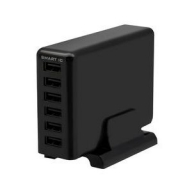 USB Tpe-A×6ポート 60W 合計出力12A USB充電器 OWL-ACU6S60W-bk