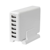 USB Tpe-A×6ポート 60W 合計出力12A USB充電器 OWL-ACU6S60W-wh