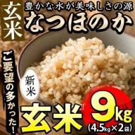 a3−039 【米の匠】川崎さん自慢のなつほのか(玄米)